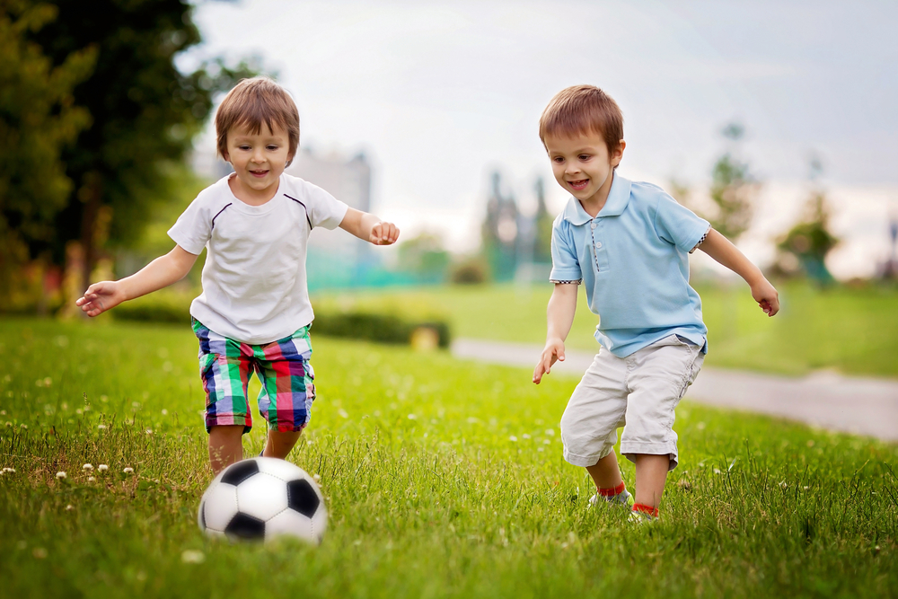 Kids are constantly active, they rest a little, then get back to playing!