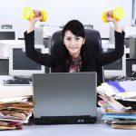 Fitness at work, desk-side workouts, deskside exercise, desk side fitness, exercise for at work, My Trainer Fitness for At Work,