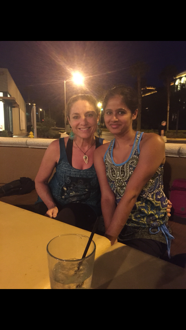 LeAura Alderson with daughter, Devani Alderson, enjoying working and traveling together.